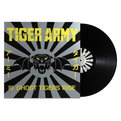 Tiger Army - III: Ghost Tigers Rise - Vinyl (Black)