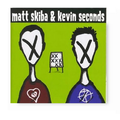 epitaph-records - Matt Skiba/Kevin SecondSplit CD