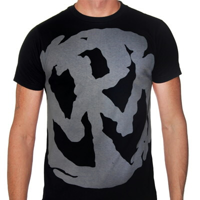 Pennywise - Large Gray Logo Shirt