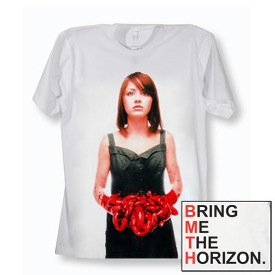Bring Me The Horizon - Red Suicide Season Shirt (White)