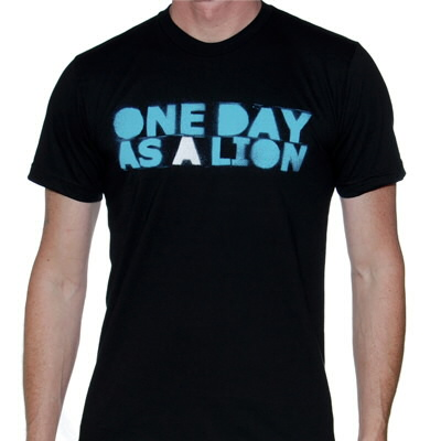 One Day As A Lion - One Day As A Lion Logo Tee