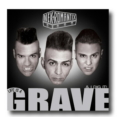 Nekromantix - Life Is A Grave and I Dig It - CD