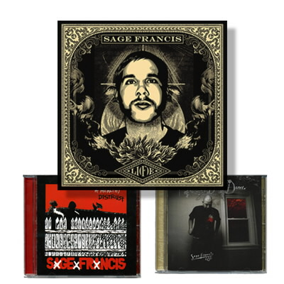 anti-records - Sage Francis CD 3-Pack