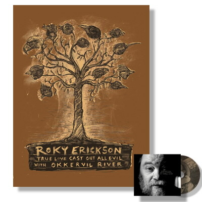 Roky Erickson - True Love Cast Out All Evil CD & Print