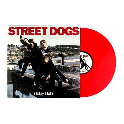 Street Dogs - State Of Grace - LP - Red
