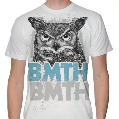 Bring Me The Horizon - Owl T-Shirt