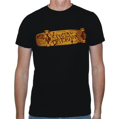 social-distortion - Skateboard T-Shirt (Black)