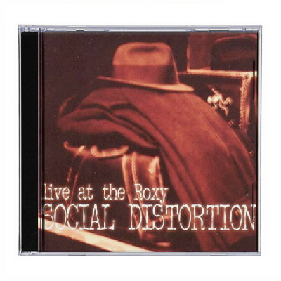 Social Distortion - SD Live at The Roxy CD