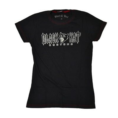black-kat-kustoms - Womens Vintage Tee