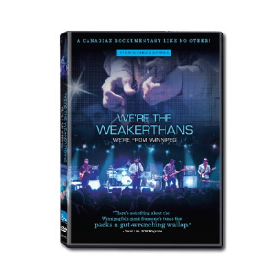 The Weakerthans - We're The Weakerthans - DVD