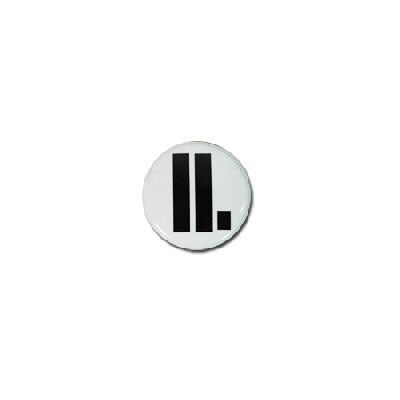 "Letlive - LL. 1"" - Button (White)"