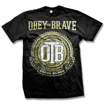 Obey The Brave - Young Blood Crest Shirt