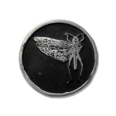 anti-records - Locust Metal - Pin