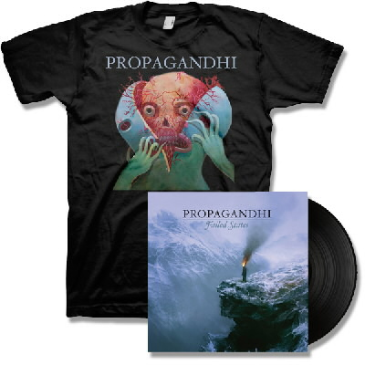 Propagandhi - Failed States LP - Black & Splitter Tee