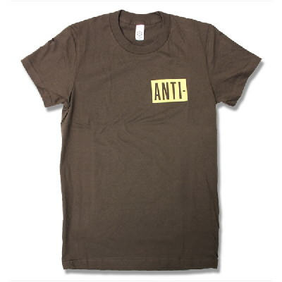 Anti - ANTI Logo Brown Tee