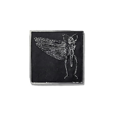 anti-records - Locust - Belt Buckle