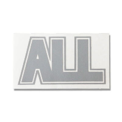 ALL - Logo Sticker (grey)