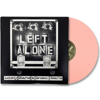 Left Alone - Lonely Starts & Broken Hearts LP - Pink