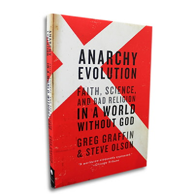 Greg Graffin - Anarchy Evolution Paperback Book