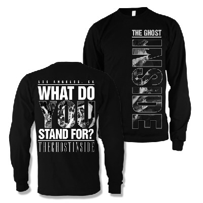 The Ghost Inside - What Do You Stand For Crewneck (Black)