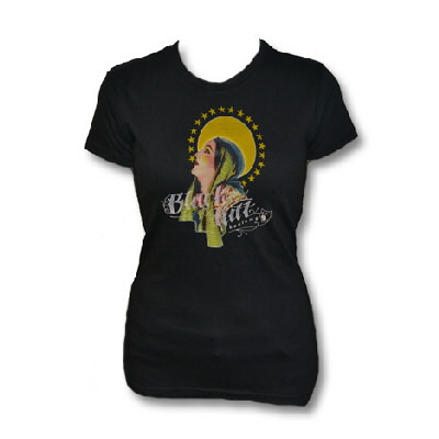 black-kat-kustoms - Maria of the Sun Womens Tee