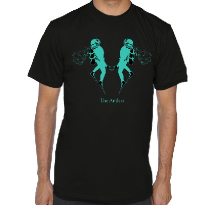 the-antlers - Undersea Diver Tee - Mens
