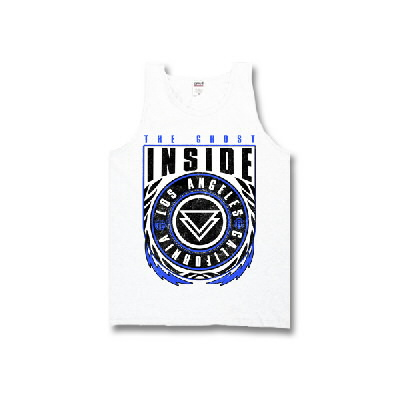 The Ghost Inside - LA Bolts Tank Top (White)