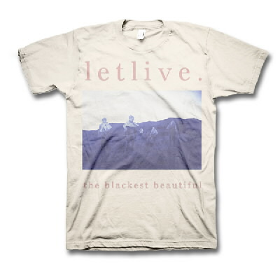 Letlive - Blackest Beautiful Logo T-Shirt (Natural)