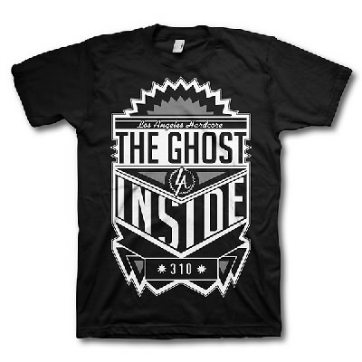The Ghost Inside - 310 Kings Tee (Black)