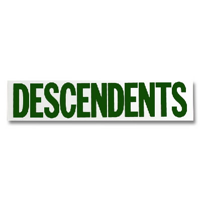 Descendents - Logo Sticker - Green
