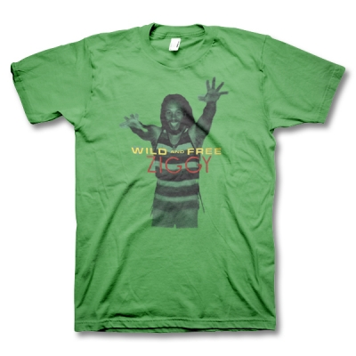 ziggy-marley - Wild & Free - Youth Tee - Green