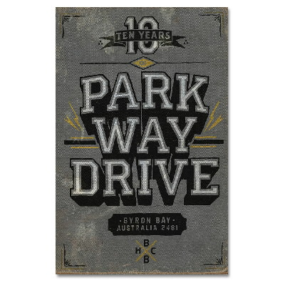 Parkway Drive - 10 Years of Parkway Drive Book