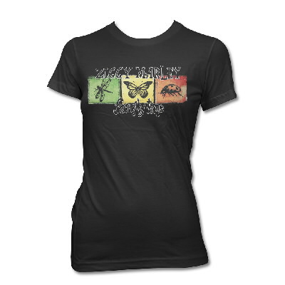 Ziggy Marley - Family Time Squares Tee - Women's