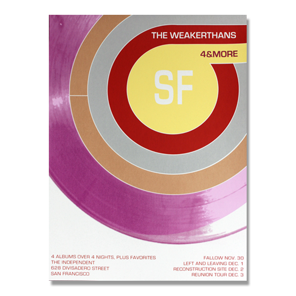 The Independent Posters The Official Weakerthans Online