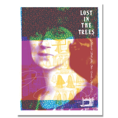 Lost In The Trees - 2012 Tour Print - A Church That Fits Our Needs - P
